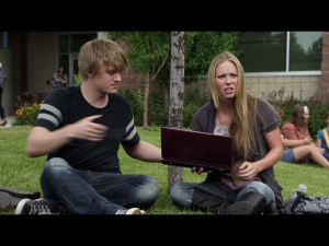 A l'épreuve du lycée, téléfilm - Ashley et Max