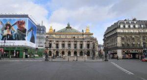 Opera de Paris pendant le confinement