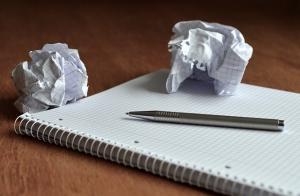 T'écris toujours ? Panne d'écriture