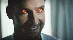 Lucifer les yeux rouges