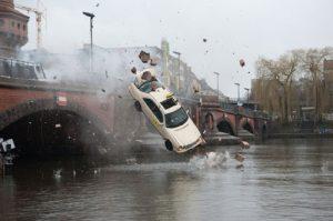 Accident de taxi