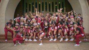 L'équipe des Cheerleaders de Navarro