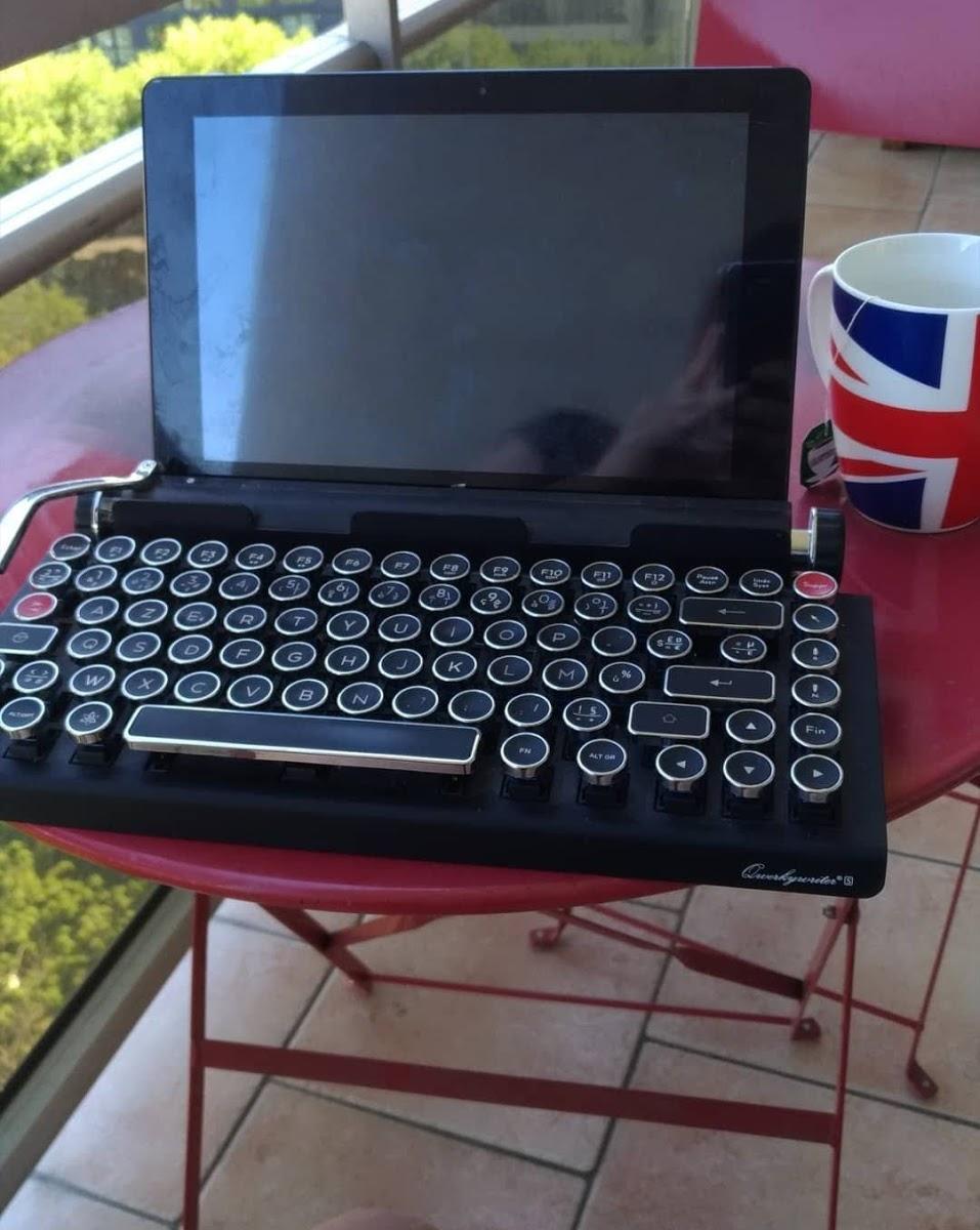 Enjoy the silence de l'écriture