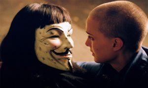 V for vendetta, romance nulle