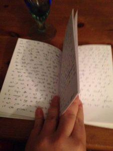 Noircir son carnet de mots