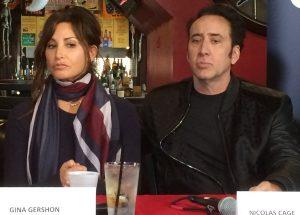 Gina Gershon et Nicolas Cage