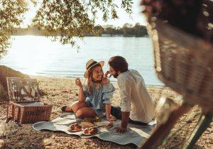 Pique nique romantique