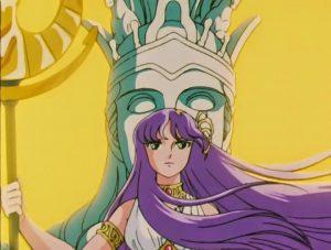 Athena dans Saint Seyia