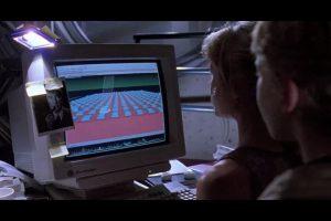 Lex et les ordinateurs dans Jurassic Park