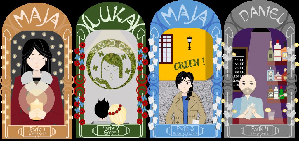 Green ! , mon roman en auto-édition