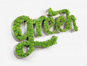 Tag végétal Green