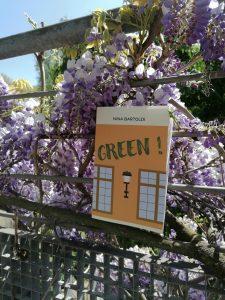 Auto-promotion du roman Green ! de Nina Bartoldi