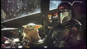 Le Mandalorien et Bébé Yoda