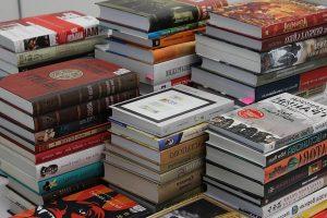 Pile de livres best-sellers