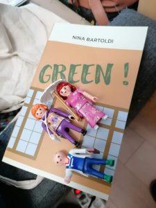 Achète mon roman Green ! de Nina Bartoldi