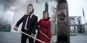 Des activistes écologistes dénoncent la pollution au charbon en Allemagne