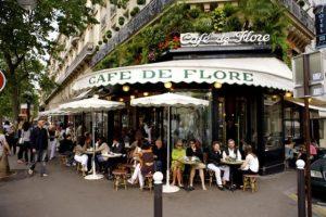 Le café de Flore à Paris