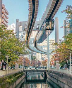 Le monorail de Chiba