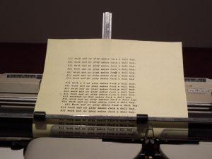 La machine à écrire dans Shining