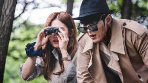 Sun-ji & Moo-Young dans Zombie Detective